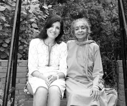 mit Mataji Vanamali