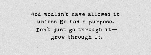 grow through it