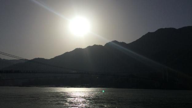 sun morning